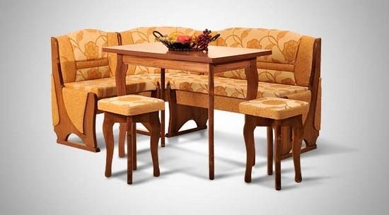 фото угловых диванов для кухни