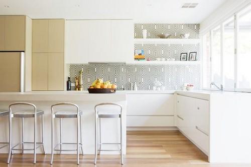 виниловые обои для кухни