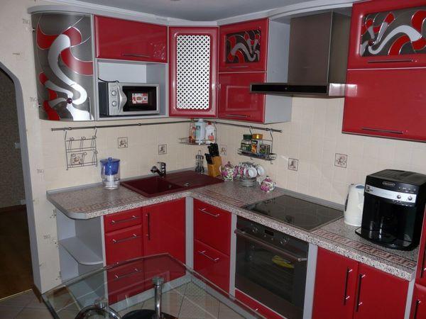 Угловые кухни дизайн на 6 кв.м