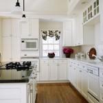Красивые белые кухни Икеа