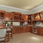 Кухня из массива дерева — быть или не быть?