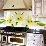 Фотопечать на стеновой панели кухни