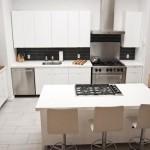 Дизайн кухни-студии 15 кв. м.