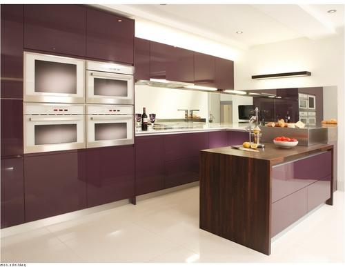Кухня баклажан цвет