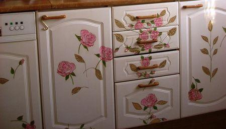 Декор кухонного шкафа своими руками 58