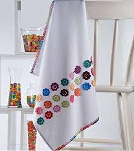 Кухонное полотенце своими руками