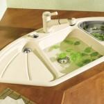Керамическая раковина для кухни: особенности, преимущества