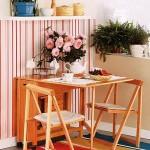 Выбираем складные стулья для кухни: экономия пространства