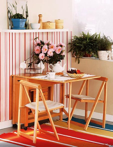 как выбрать складные стулья для кухни на фото деревянные