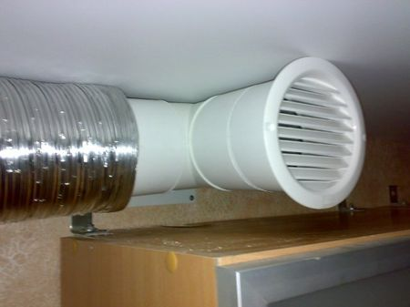 Как сделать вентиляцию кухни