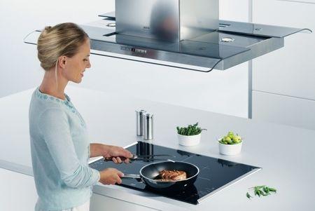удалить жир с вытяжки на кухне