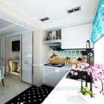 Гастрономическая перепланировка: кухня на балконе