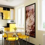 Какой должна быть кухня в однокомнатной квартире