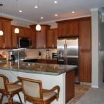 Обустраиваем дизайн интерьера кухни с барной стойкой