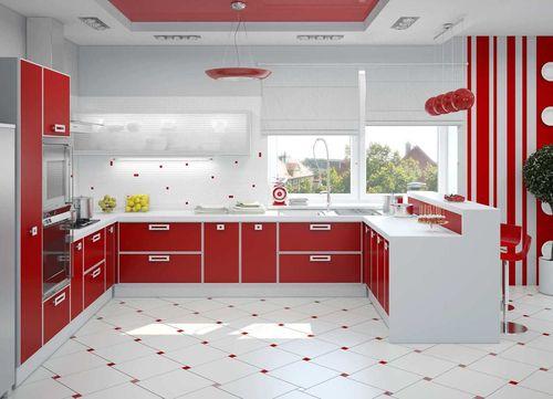 палитра и сочетание цветов на кухне фото