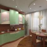 Идеи планировки кухни 9 квадратных метров