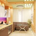 Оптимальная планировка кухни 10 метров