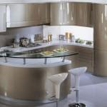 Кухня цвета шампань: это стильно и красиво