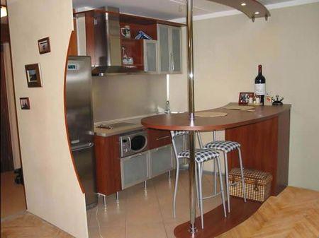 маленькие кухни с барной стойкой угловые дизайн квартиры студии
