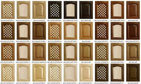 Варианты рамочных фасадов