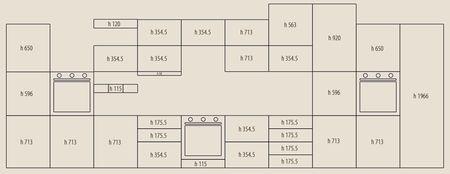 Размеры фасадов