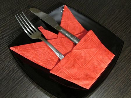 Кармашек для вилки и ножа