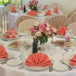 Красивая сервировка стола на день рождения