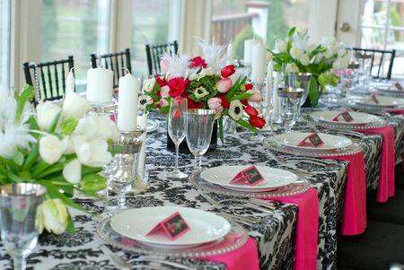 Сервировка стола в домашних 7