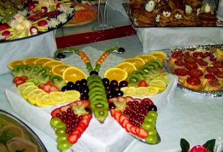 Сервировка на день рождения