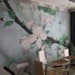 Идеи тематических рисунков на стенах кухни