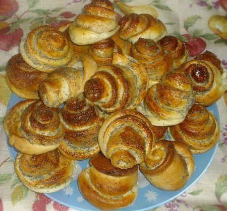 Рецепт булочек в духовке с маком рецепт с пошагово