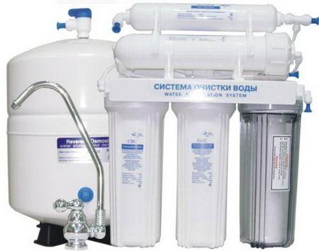 Фильтр для очистки воды обратного осмоса Барьер Профи