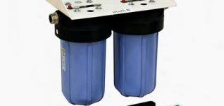 Двухступенчатый магистральный фильтр для холодной воды