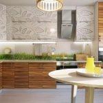 Варианты дизайна кухни в эко стиле
